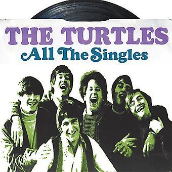 Skildpadder - alle singler [CD] USA importerer
