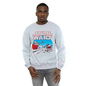 Star le derniers Jedi Action scène Sweatshirt Wars masculine