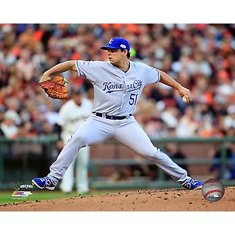Jason Vargas Game 4 of the 2014 World Series Photo Print
