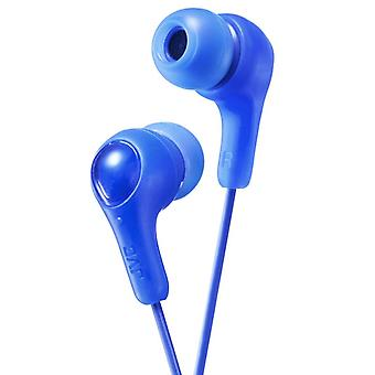 JVC Gumy Plus In-Ear Ohrhörer Kopfhörer-Kopfhörer - blau (Modell-Nr. HAFX7A)