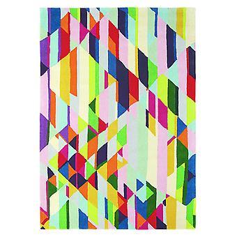 Xian Facet Multi Coloured Geometric Rug - Brink & Campman