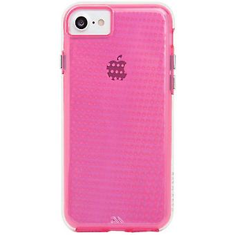 IPhone Case-Mate Tough translucide 8/7/6 s/6-affaire - Pink