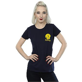 Looney Tunes Women's Tweety Pie Head T-Shirt