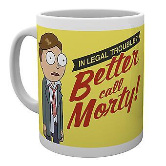 Rick en Morty Better Call Morty mok