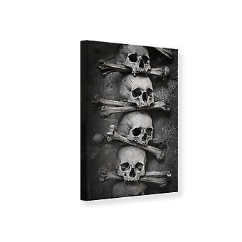Canvas Print Skulls