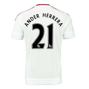 2015-2016 Man Utd Away Shirt (Ander Herrera 21) - Kids