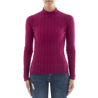 Theory women's H0711717V8A pink Wool Sweater