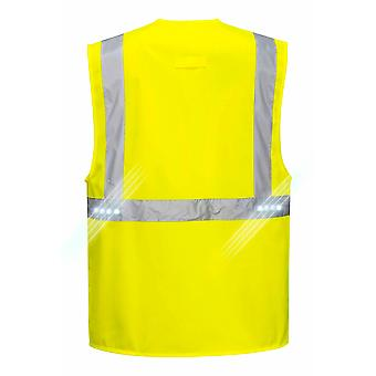 Portwest - Orion LED Hi-Vis Safety Workwear Executive Vest