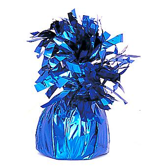 Unique Party Royal Blue Foil Tassels Balloon Weight