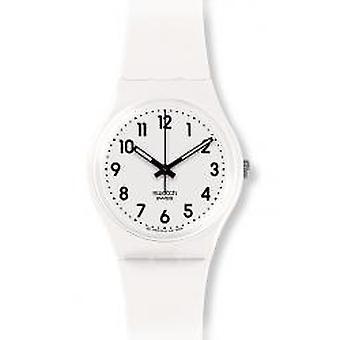 Nur weiße Swatch Armbanduhr (GW151O)