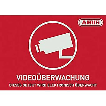 Warning label CCTV Languages German (W x H) 74 mm x 52.5 mm