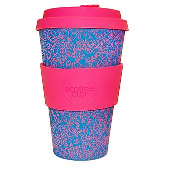 Ecoffee Cup Miscoso Dolce with Pink Silicone 14oz
