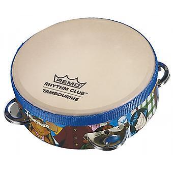 Remo RH-2106-00 Rhythm Club Tambourine 6 Inch