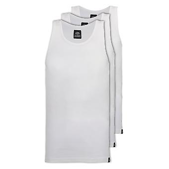 Dickies Proof 3 Pack Tank Tops - White