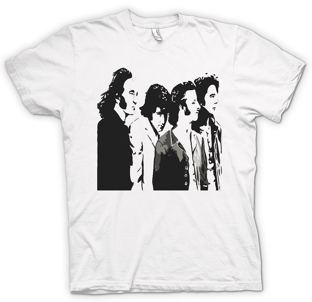 Womens T-shirt - The Beatles - Band - popart