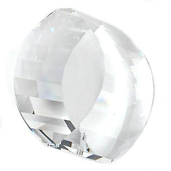 Pendant circle cylinder lead crystal pendants, cylinder faccettiert