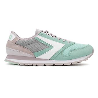 Brooks Womens Cloud Grey/Green Chariot Trainers