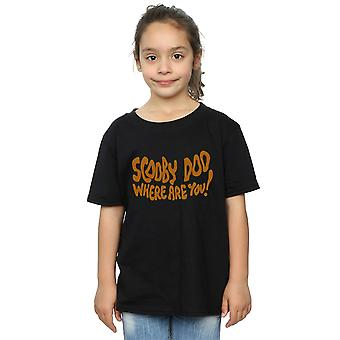 Scooby Doo Girls Where Are You Spooky T-Shirt