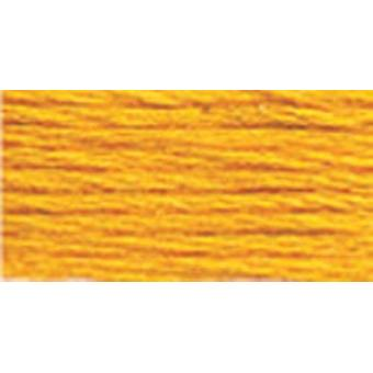 DMC 6-Strand Embroidery Cotton 8.7yd-Deep Canary