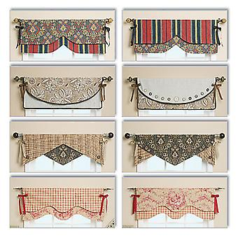 Reversible Window Valance-One Size Only -*SEWING PATTERN*