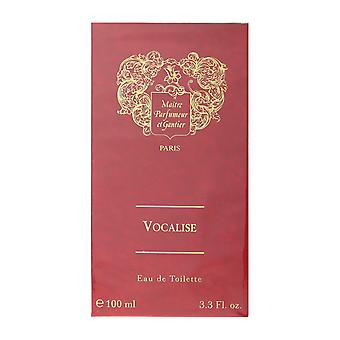 Maitre Parfumeur et Gantier Vocalise Eau De Toilette Spray 3.3 Oz/100 ml en caja