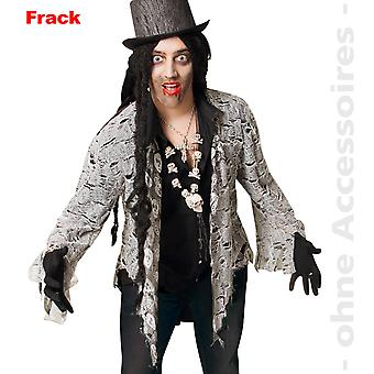 Zombie costume mens horror tails undead Halloween mens costume
