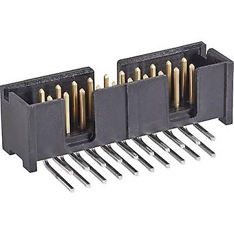 TE Connectivity Pin strip Contact spacing: 2.54 mm Total number of pins: 26 No. of rows: 2 1 pc(s)