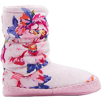 Joules Girls Super Soft Slipper Sock Warm Boots Bootie