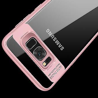 Ultra Slim Case für Samsung Galaxy A6 Plus 2018 Handyhülle Schutz Cover Rose