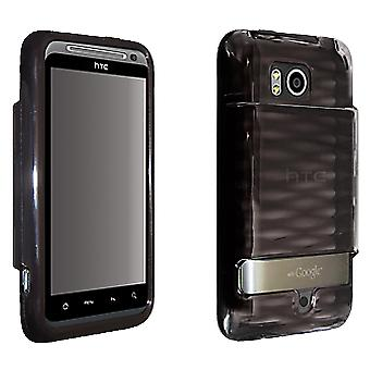 OEM Verizon HTC Thunderbolt ADR6400 High Gloss Silicone Cover for Extended Batte