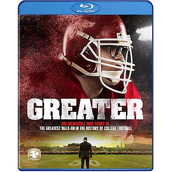 Greater [Blu-ray] USA import