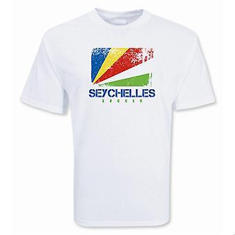 Seychellen-Fußball-T-Shirt