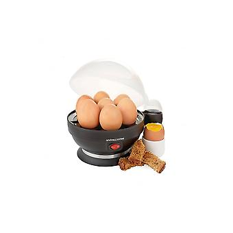 Andrew James Andrew James Electric Egg Boiler And Poacher With Steamer Attachment - Black