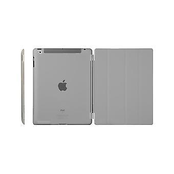 Case/Cover, iPad (2017)/iPad Air + shell in hard plastic, Gray