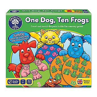 Orchard Toys One Dog, Ten Frogs Game