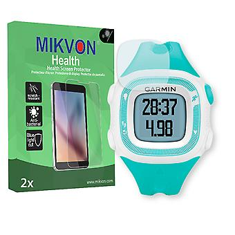 Garmin Forerunner 15 S Screen Protector - Mikvon Health (Retail Package with accessories)