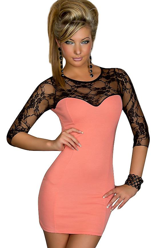Waooh - Fashion - Strapless Lace Dress