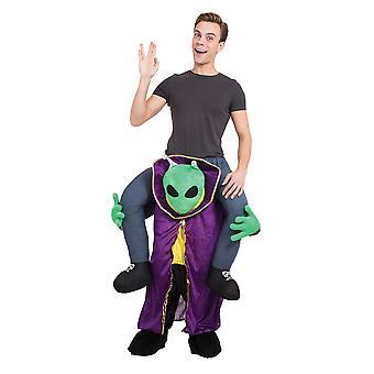 Alien Piggy Back Kostüm