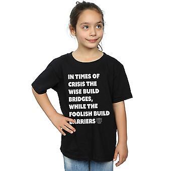 Marvel Girls Black Panther Times of Crisis T-Shirt