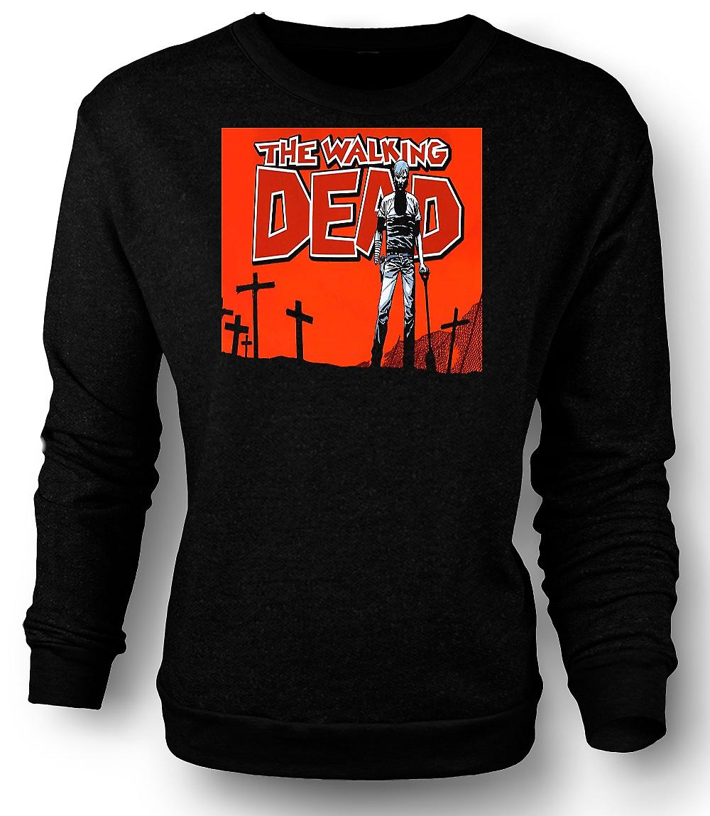 Mens Sweatshirt Zombie The Walking Dead - Horror
