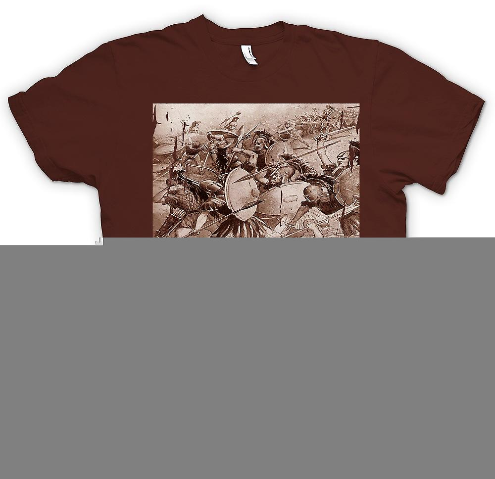 Mens T-shirt - The Peloponnesian War - The Sicilian Expedition - Sparta