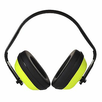 Portwest - Classic HV Ear Protector Defenders Muffs Yellow Regular