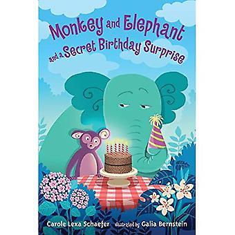 Affen und Elefanten und eine geheime Geburtstags-Überraschung