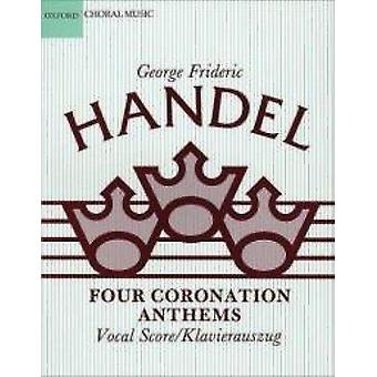 Four Coronation Anthems - Violin 1 by George Frideric Handel - Cliffor