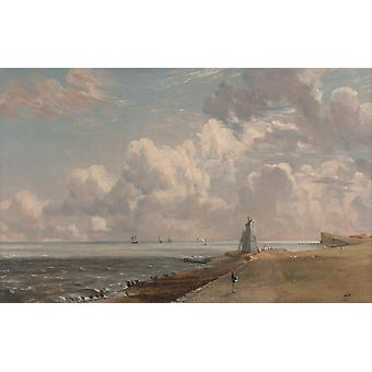 Harwich Lighthouse,John Constable,60x40cm