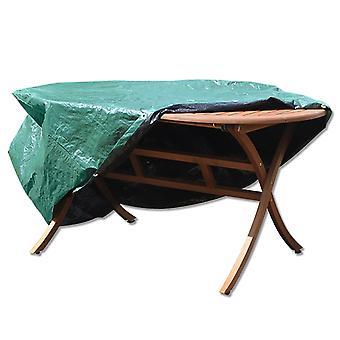 単に直接テラス カバー - オーバル - 防水の全天候型家具プロテクターのセット