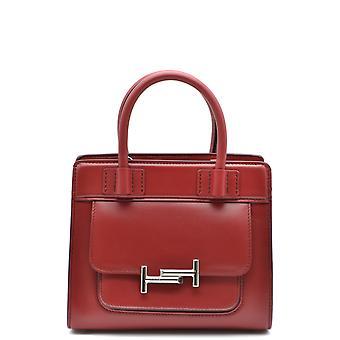 Tod's Xbwamuu0100pupr018 Red Leather Handbag
