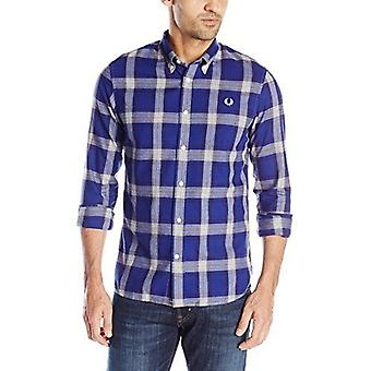 Fred Perry Men's Marl Winter Check Shirt M7298-458
