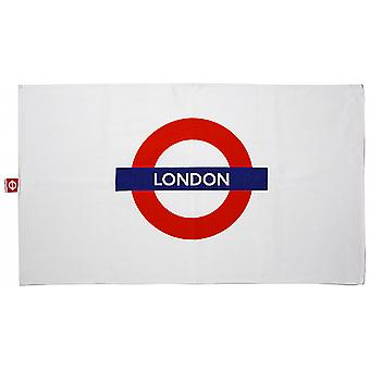 London Underground Cotton Tea Towel with