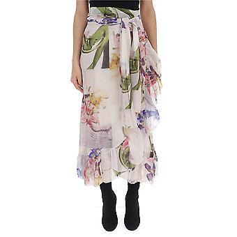 Ganni Multicolor Nylon Skirt